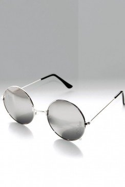 Круглые зеркальные очки 905064