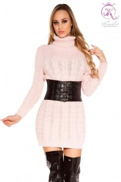 Вязаное платье-свитер KouCla Rosa