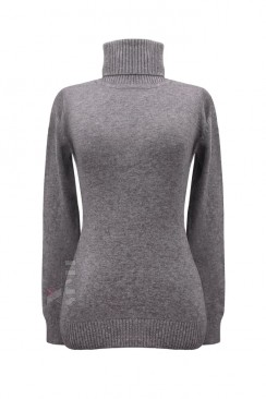 Серый меланжевый свитер XC1031
