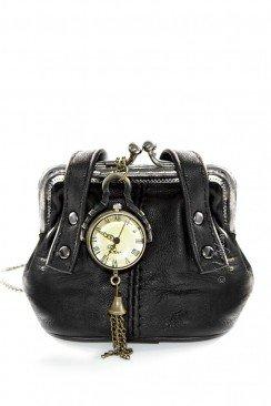 Кулон-часы в подарочной сумочке