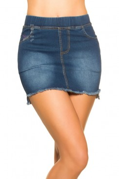 Короткая джинсовая юбка MF7172