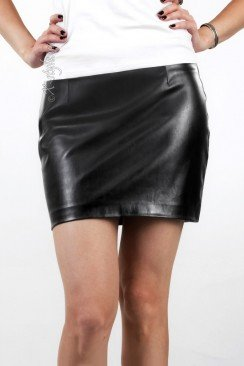 Кожаная юбка Xstyle