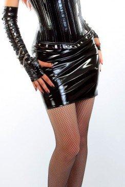 Мини-юбка под латекс XSTYLE