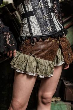 Мини-юбка Steampunk