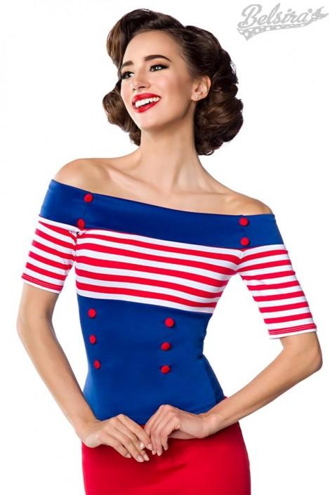 Блузка в стиле 50-х Belsira (101185)