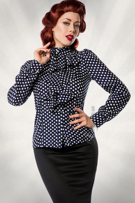 Блузка в ретро-стиле (101157)
