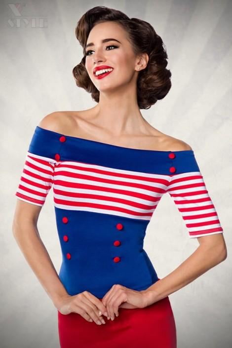 Блузка в стиле 50-х (101185)