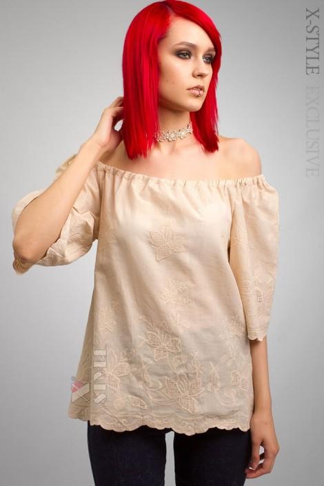 Блузка с открытыми плечами X-Style (101181)