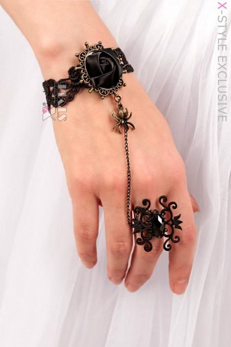 Браслет с кольцом X0184 (710184)