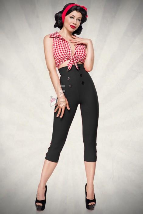 Винтажные брюки с высокой талией (108056)