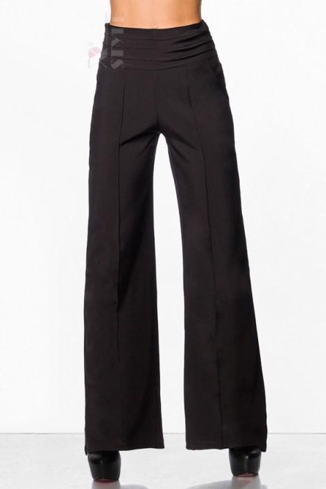 Расклешенные женские брюки (108045)