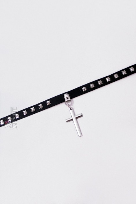 Чокер с крестом XA6232 (706232)