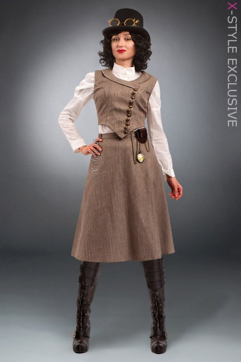 Женский костюм Steampunk Retro X8038 (118038)