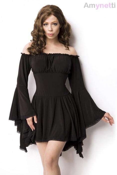 Платье-туника c широкими рукавами A5018 (165018)