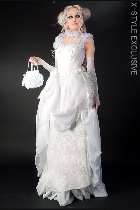 Свадебное платье Викторианской эпохи (125025)