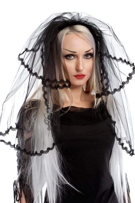 Черная фата невесты (504211)