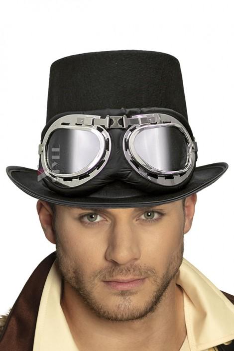 Шляпа-цилиндр Steampunk Retro CC42 (501142)