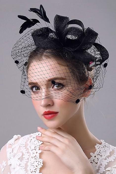 Шляпка с вуалью Artistic (502013)