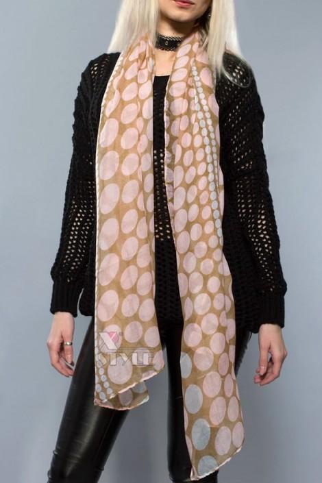 Длинный женский шарф (хлопок) (714207)