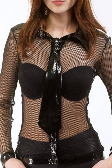 Лаковый галстук (705006)