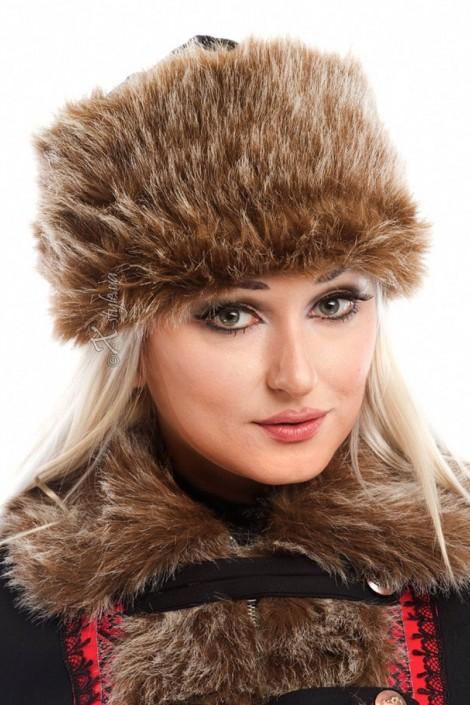 Женская меховая шапка (502057)