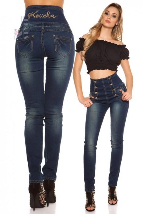 bbb0cea08f8 Утягивающие джинсы с высокой талией KC8075 купить недорого в Киеве ...