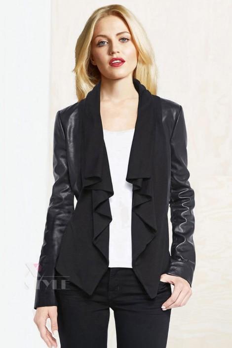 Женская куртка с шалевым воротником XStyle (112137)
