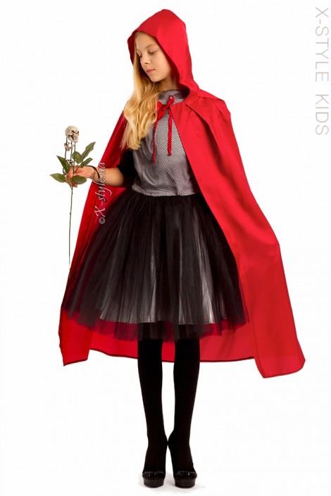 Красная детская накидка X-Style (225004)