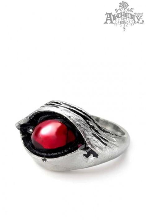 Кольцо Глаз демона (ручная работа) (AGR24)