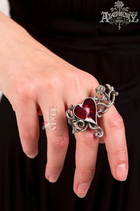 Оловянное кольцо с камнями Swarovski AG180 (AGR180)
