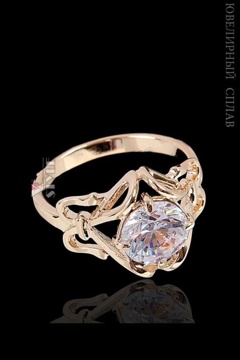 Позолоченное кольцо Паккарик, Jenavi (jn708q44)