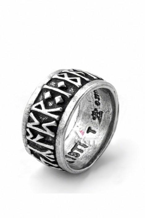 Кольцо с рунами (ручная работа) (AGR173)