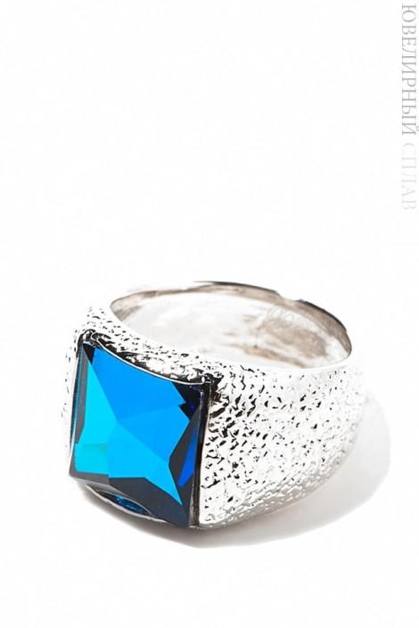 Родированное кольцо Swarovski Jenavi (jenb833f04)