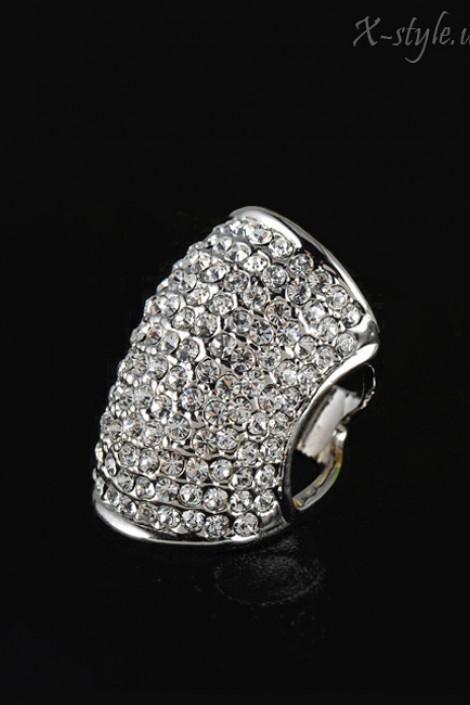 Массивное кольцо с камнями (708160)