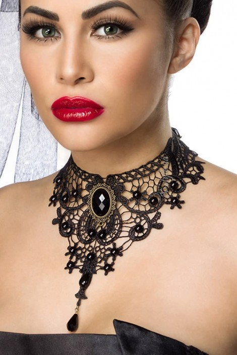 Кружевное ожерелье-чокер A6153 (706153)