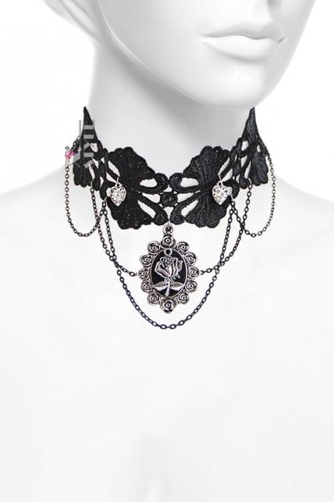 Ожерелье-чокер с камеей X6200 (706200)