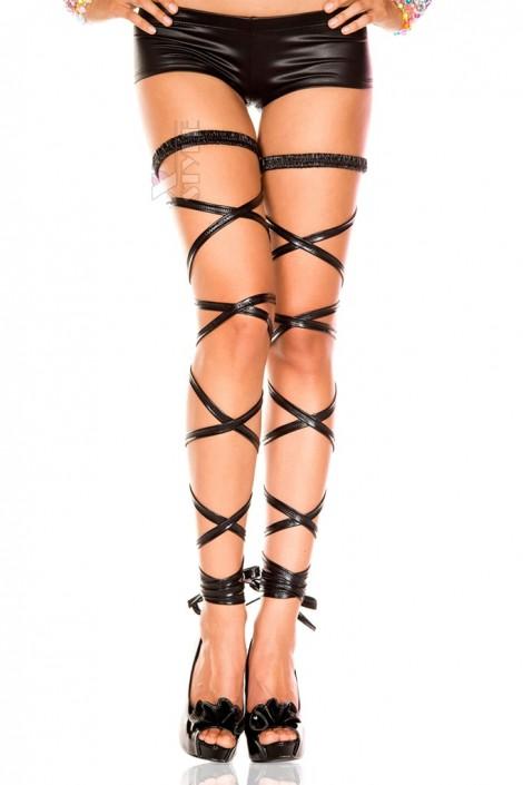 Чулки-шнурок под кожу (903006)