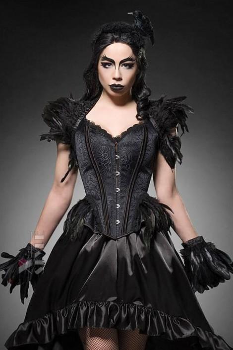 Корсет Gothic Crow Lady (121171)
