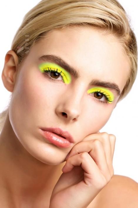 Неоновые UV-тени (Yellow) (120007)