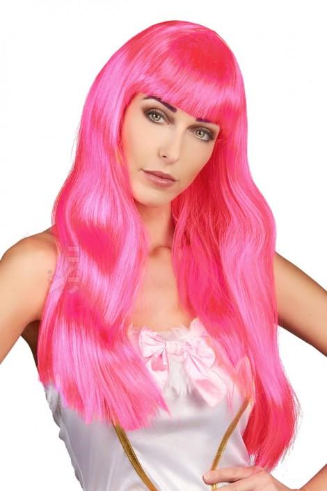 Длинный розовый парик Hot Pink CC3024 (503024)