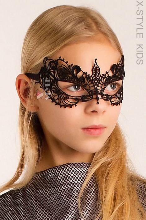 Ажурная детская маска Бабочка X1030 (901030)