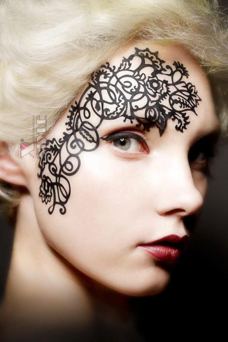 Маска-стикер на лицо, Artistic (FC6583)