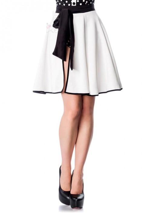 Белая пляжная юбка Belsira (140125)
