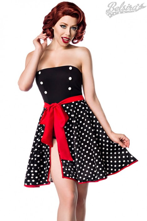 Пляжная юбка в горошек B0117 (140117)
