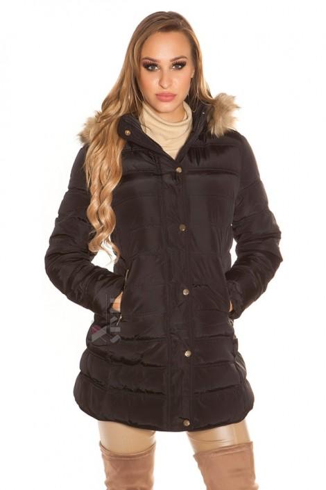 Зимняя женская куртка с капюшоном MF2133 (112133)