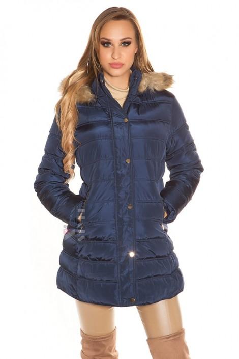 Зимняя куртка женская MF2134-Navy (112134)