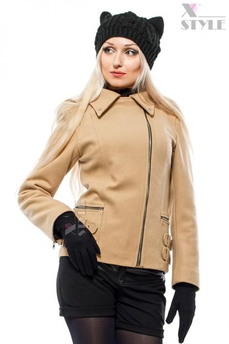 Зимова жіноча куртка-косуха X-Style купити недорого в Києві 84c245b20cefc
