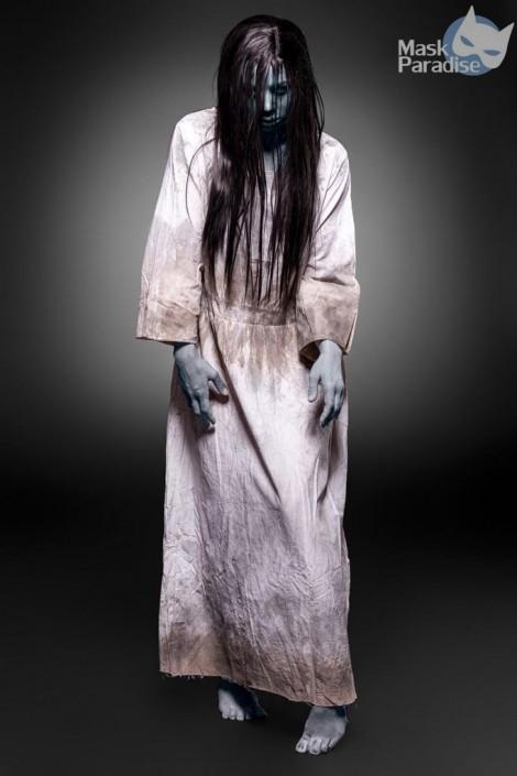 Карнавальный костюм Creepy Girl (платье, парик) (118052)