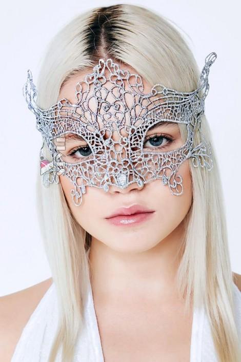 Металлизированная серебристая маска Artistic (901047)
