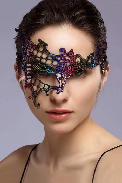 Асимметричная разноцветная маска XC057 (901057)
